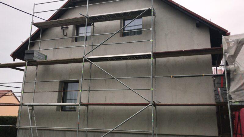 Zateplení fasády - Šenov