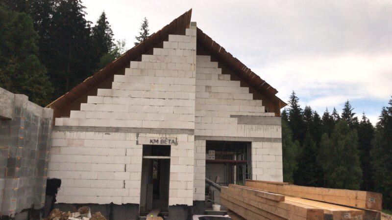Stavba rodinného domu  - Horní Bečva